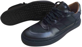 Marc Jacobs Black Leather Trainers
