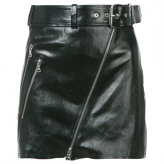 Amiri Black Patent leather Skirt for Women
