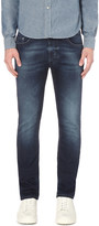 Diesel Thavar 0674y slim-fit tapered jeans