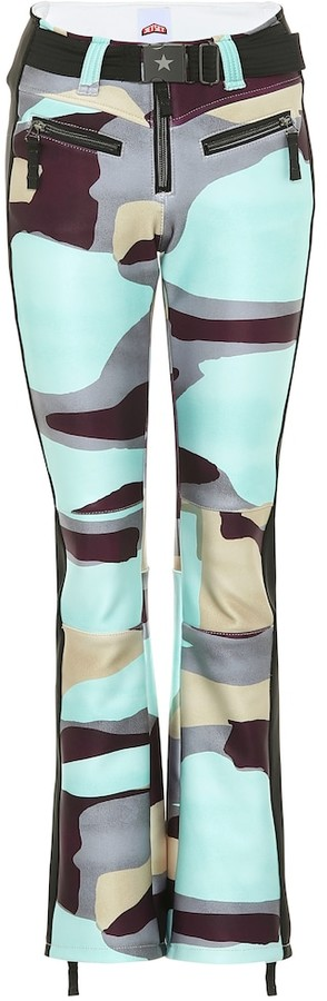 Jet Set Exclusive to Mytheresa Tiby camo-print shell ski pants