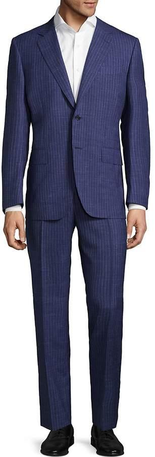Canali Men's Regular Fit Pinstripe Wool-Blend Suit