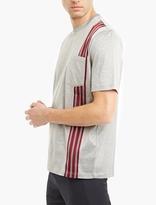 Lanvin Cotton Striped-Panel T-Shirt