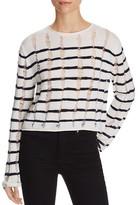 Alexander Wang Stripe Crop Sweater
