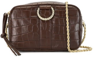 Loeffler Randall Croc-Effect Crossbody Bag