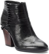 Isola Lander Knotted Leather Straps Block Heel Booties
