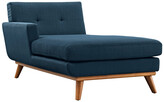 Modway Engage Left-Facing Upholstered Fabric Chaise