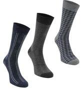 Firetrap 3 Pack Ribbed Socks
