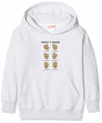 Marvel Girl's Guardians of The Galaxy Vol 2 Groot Today's Mood Hoodie