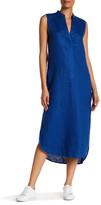Brochu Walker Paige Sleeveless Linen Tunic Dress