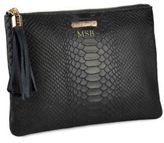 GiGi New York Personalized Python-Embossed All-In-One Case