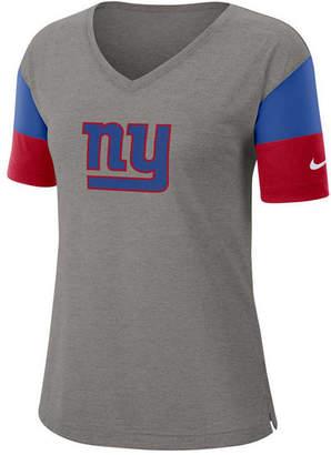 Nike Women New York Giants Tri-Fan T-Shirt