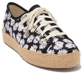 Keds Triple Kick Daisy Espadrille Platform Sneaker
