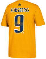 adidas Men's Filip Forsberg Nashville Predators Silver Player T-Shirt