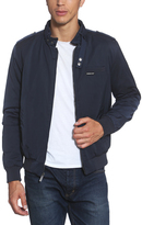 Members Only Navy Twill Iconic Racer Jacket - Men's Regular