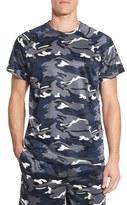 Majestic International Men's Camo Crewneck T-Shirt