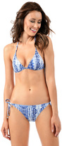 Voda Swim Bermuda Envy Push Up String Bikini Top