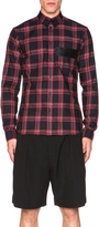 Givenchy Plaid Button Down Shirt
