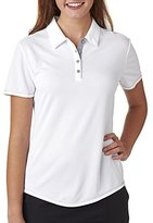 adidas A222 Ladies' ClimaCool® Mesh Color Hit Polo