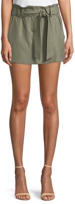 Ramy Brook Eloise Twill Mini Skirt
