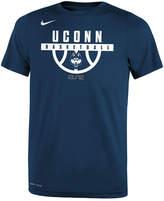 Nike Connecticut Huskies Basketball Legend Logo T-Shirt, Big Boys (8-20)