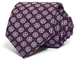 Canali Florette Medallion Silk Classic Necktie
