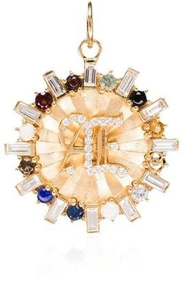 Foundrae 18kt gold Aether Badge medallion