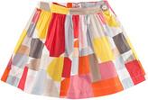 Il Gufo Multi-Coloured Graphic Print Skirt