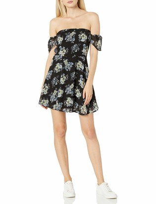Lucca Couture Women's Sweetheart Off Shoulder Dress