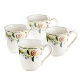 Noritake Floral Bay 4 Mug Set
