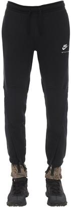 Alyx Nike Cotton Jersey Sweatpants W/ Zips