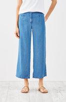 J. Jill Tencel®-Soft Indigo Full-Leg Crops