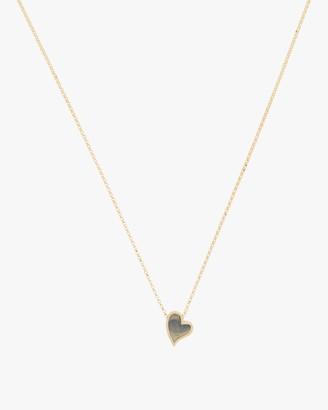 Roberto Coin Small Slanted Heart Necklace