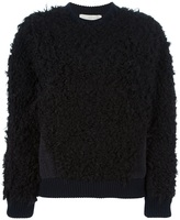 Stella McCartney shearling effect jumper