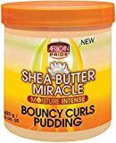 African Pride Shea Butter Miracle Moisture Intense Bouncy Curls Pudding 15 oz (Pack of 9)