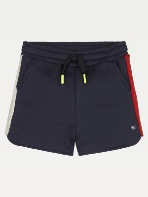 Tommy Hilfiger Colour-Blocked Drawstring Shorts