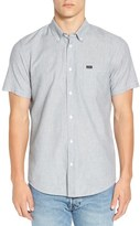 RVCA 'That'll Do - Static' Trim Fit Short Sleeve Woven Shirt
