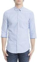 DSQUARED2 Men's Blue Cotton Shirt.