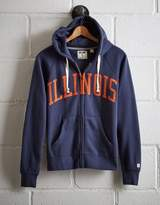 Tailgate Women's Illinois Full-Zip Hoodie