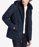 Calvin Klein Men's Big & Tall Hooded Fleece Lined Coat