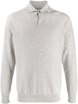 N.Peal Buttoned Knitted Jumper