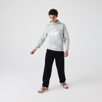 Lacoste Mens SPORT Oversize Croc Fleece Hoodie