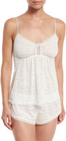 Eberjey In-Clouds Lace-Trimmed Camisole, Cloud