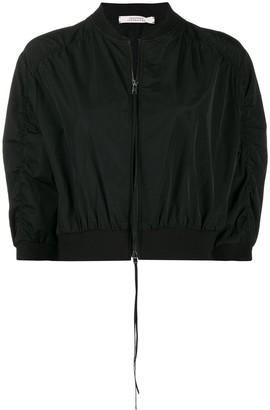 Schumacher Dorothee cropped zipped jacket