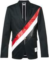 Thom Browne diagonal stripe blazer