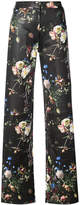 ADAM by Adam Lippes straight-leg floral trousers