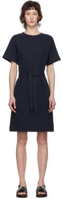 A.P.C. Navy Julia Dress
