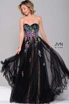 Jovani Strapless Prom Ball Gown JVN41428