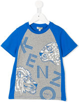 Kenzo logo print T-shirt - kids - Cotton - 2 yrs