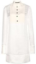Alexander McQueen Jacquard Dress