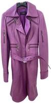 Versus Purple Leather Jacket for Women